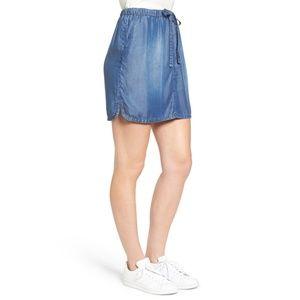 Caslon easy drawstring skirt